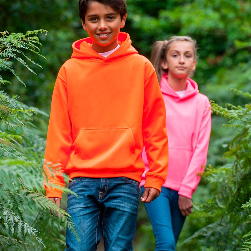 Neon kids hoodie