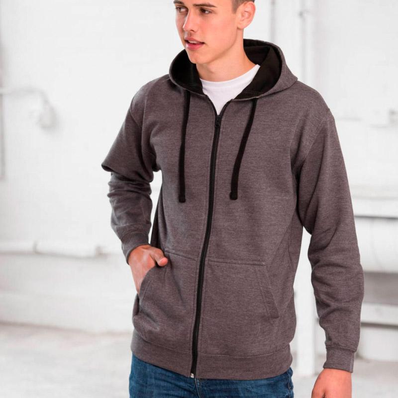zip up hoodie varsity