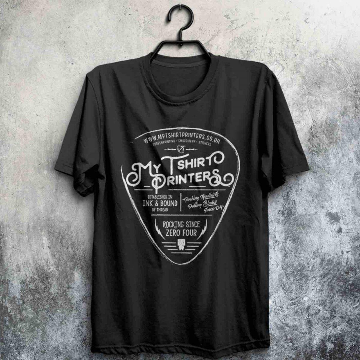 50 Black Screen Printed t Shirts