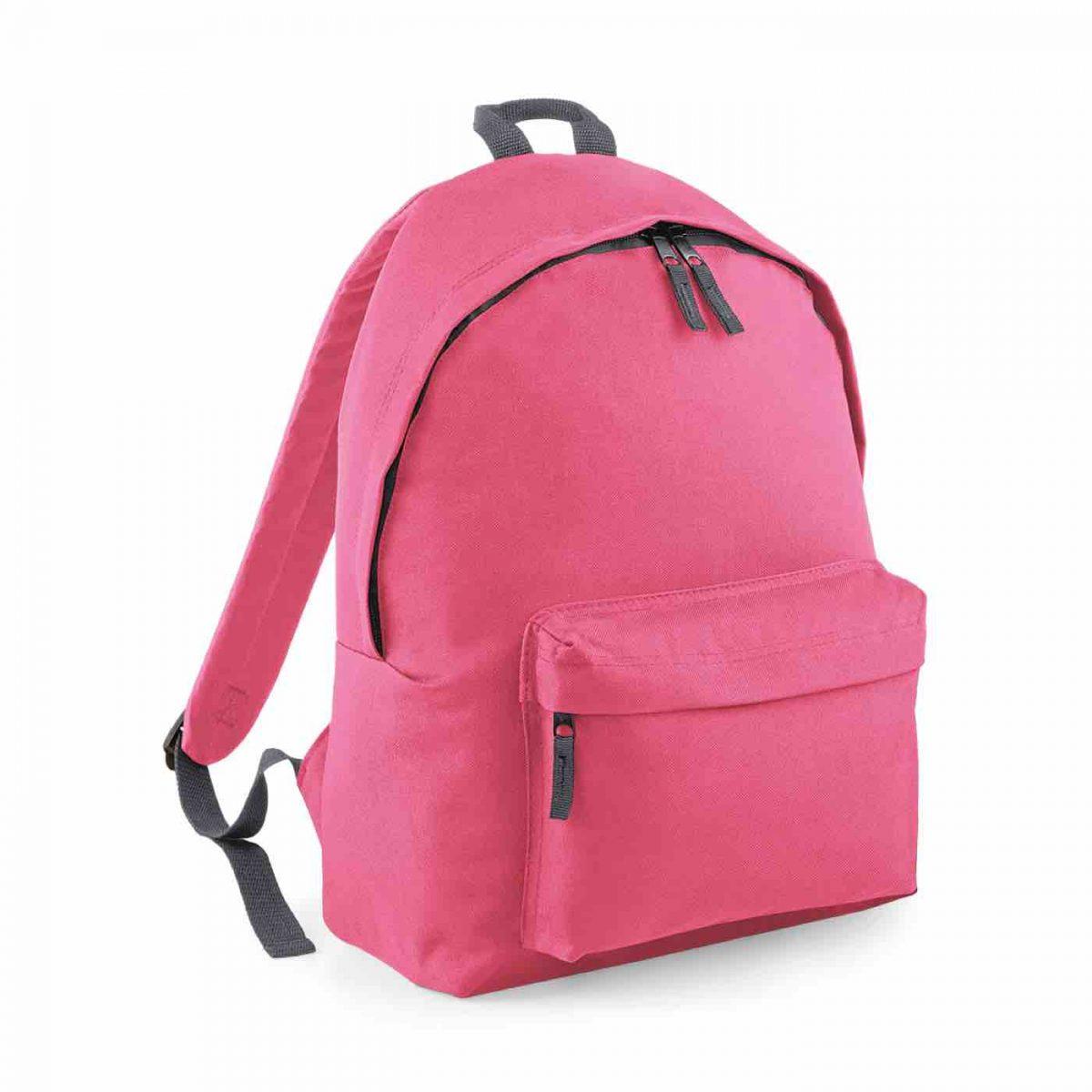 True Pink Blue Back Pack