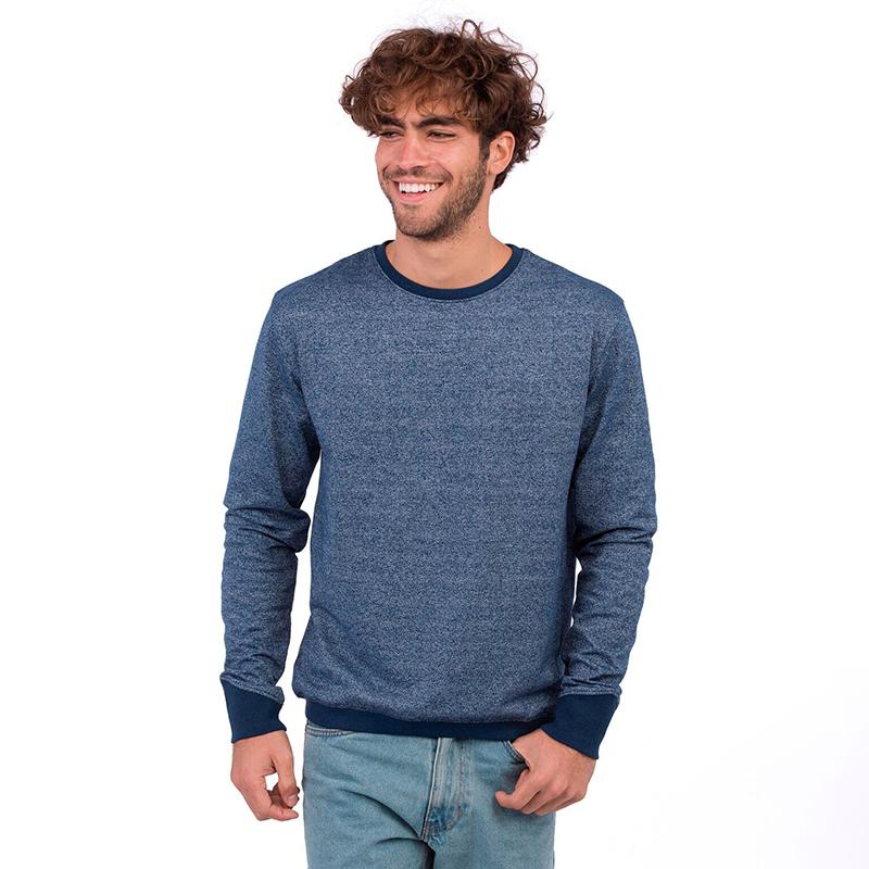 sweatshirt recycled blue