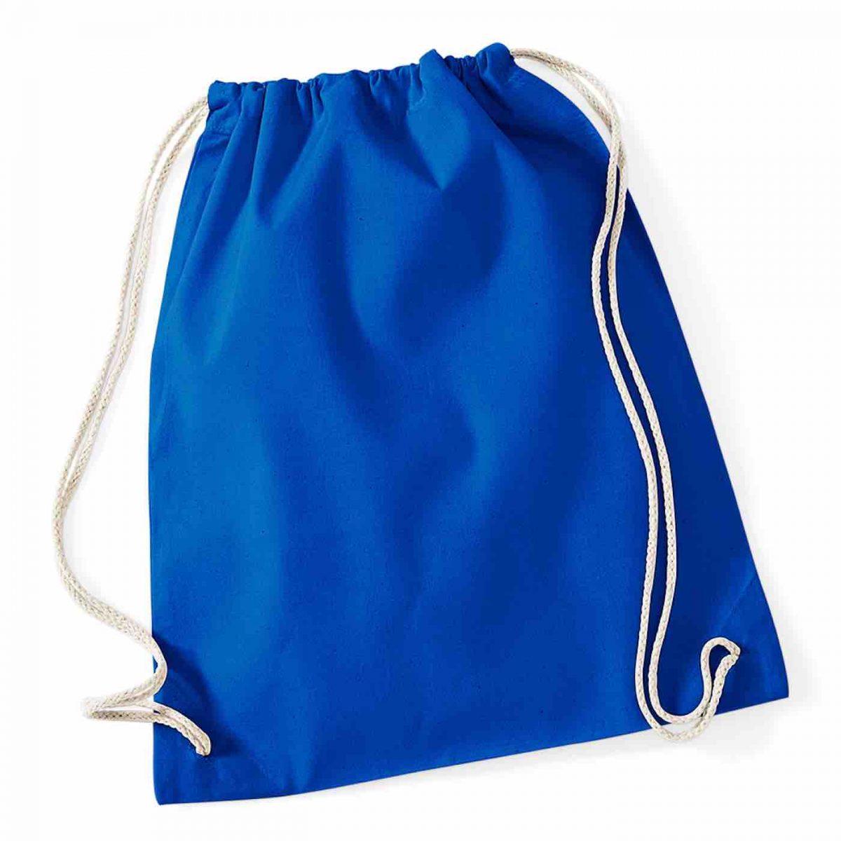 Bright Royal Cotton Tote Bag