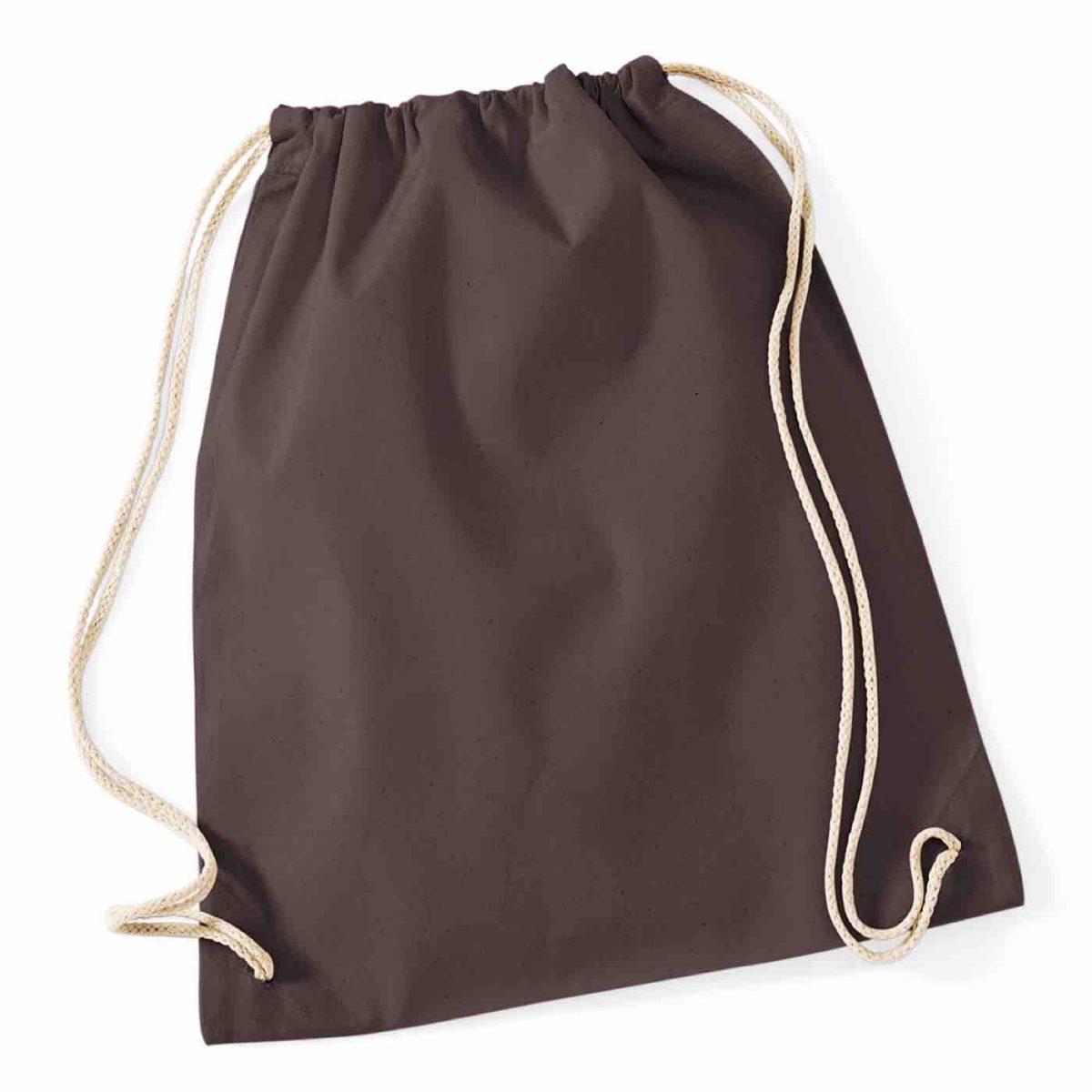 Chocolate Cotton Tote Bag