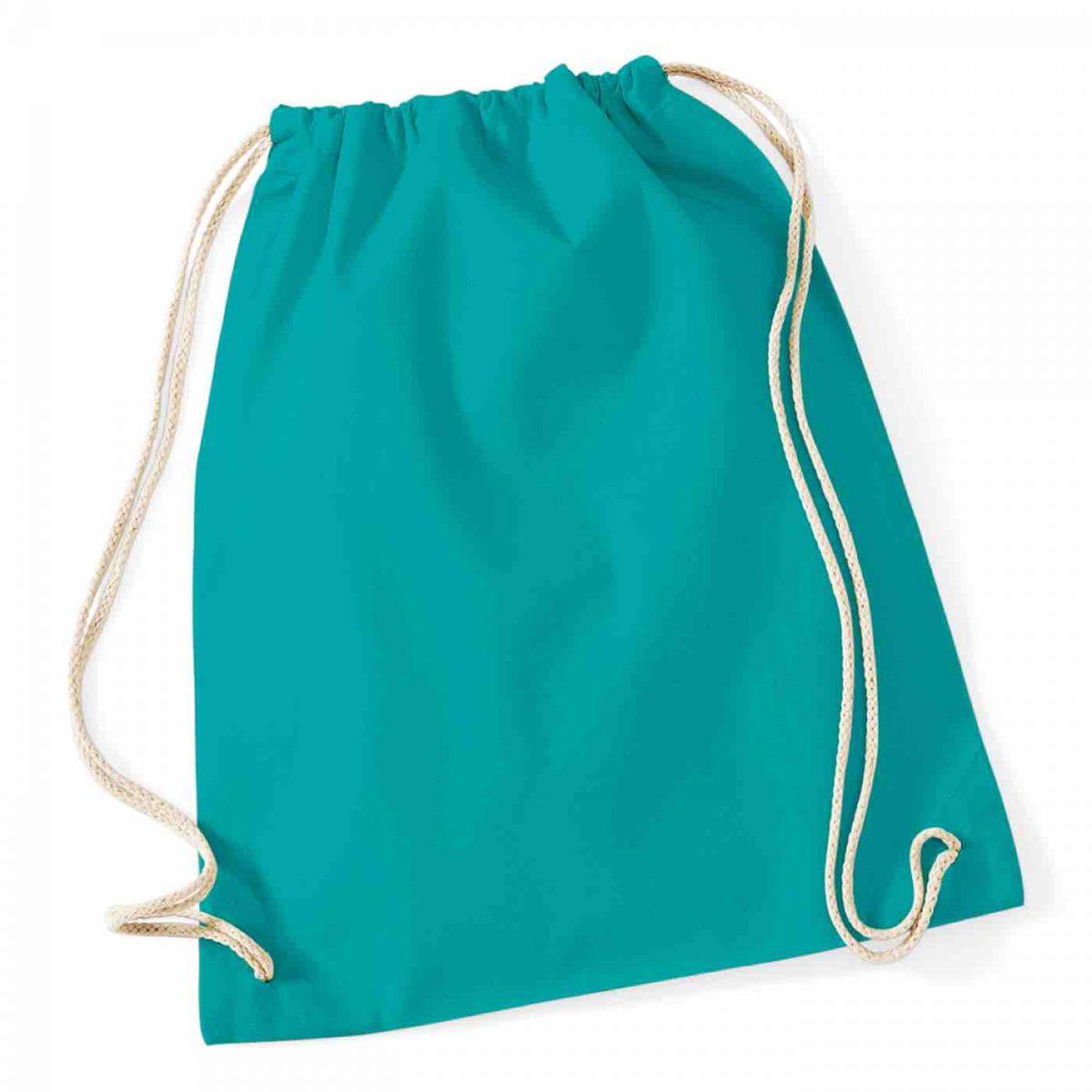 Emerald Cotton Tote Bag