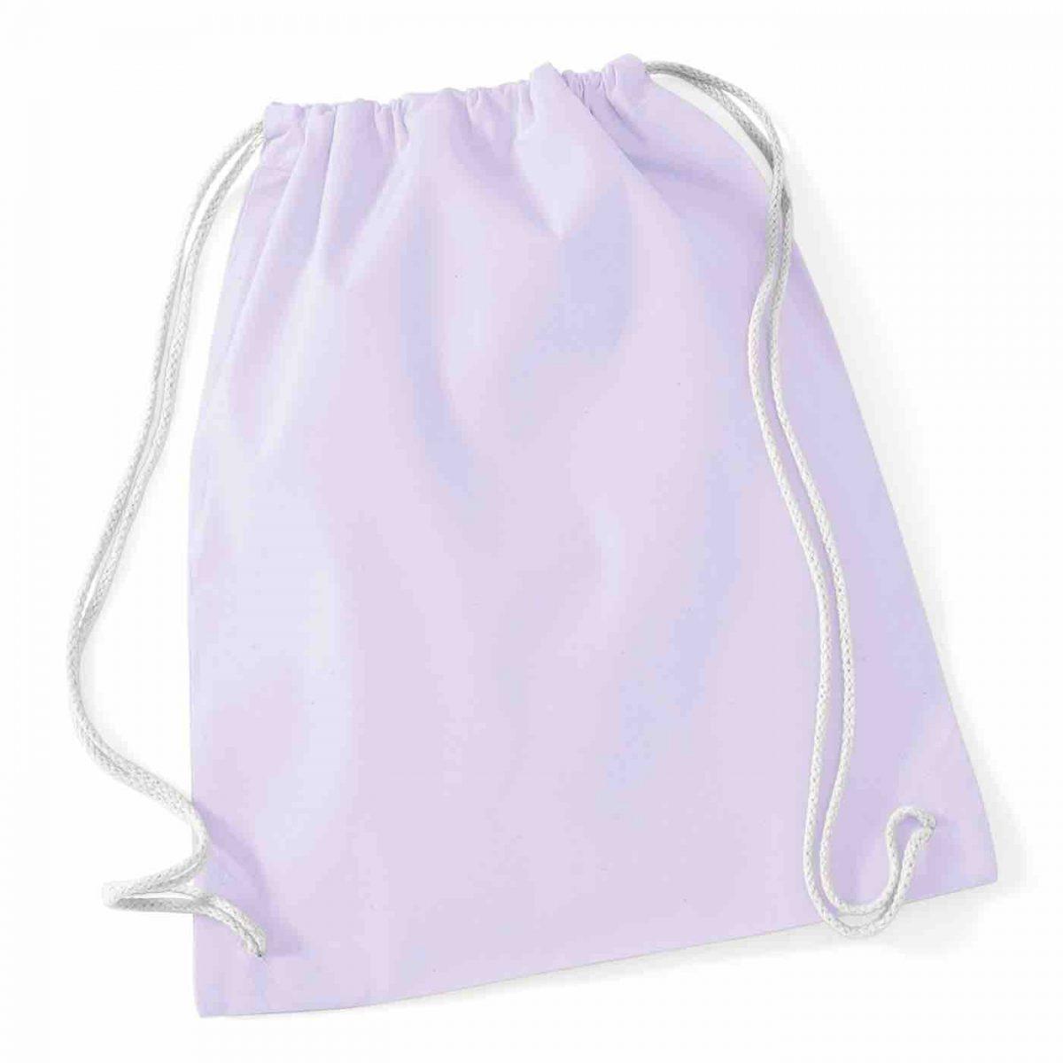 Lavendar Cotton Tote Bag