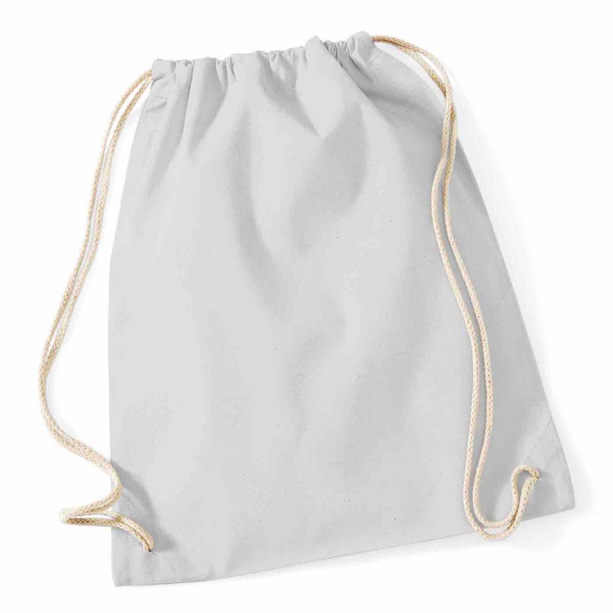 Light Grey Cotton Tote Bag