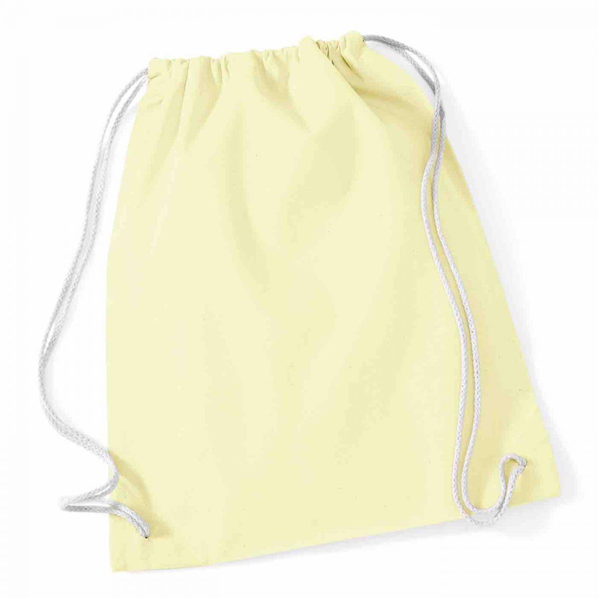 Pastel Lemon Cotton Tote Bag