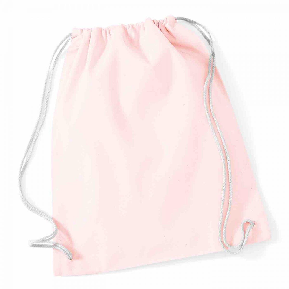Pastel Pink Cotton Tote Bag