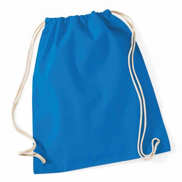 Sapphire Cotton Tote Bag