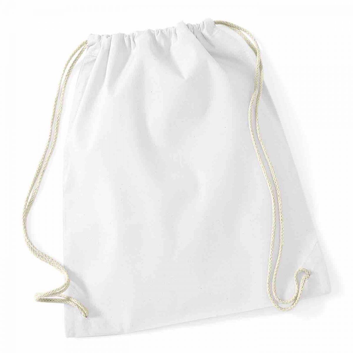 White Cotton Tote Bag