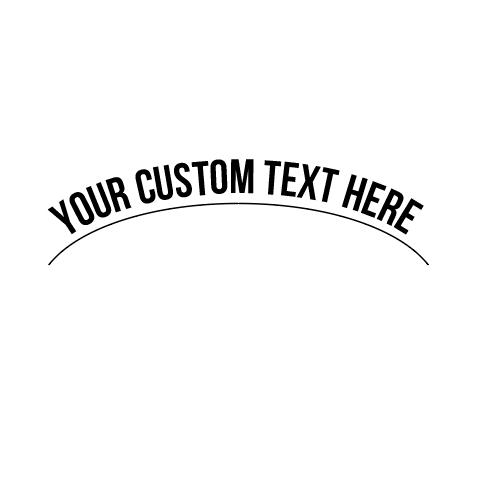curve text