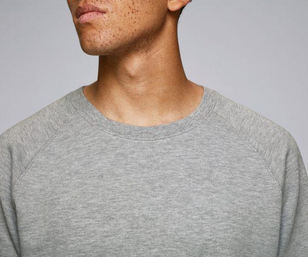 stanley stella sweatshirt neck line