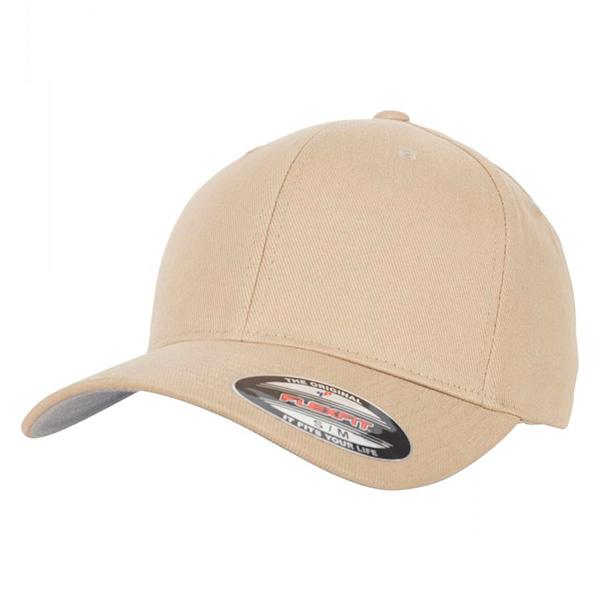6377 Khaki flexfit cap