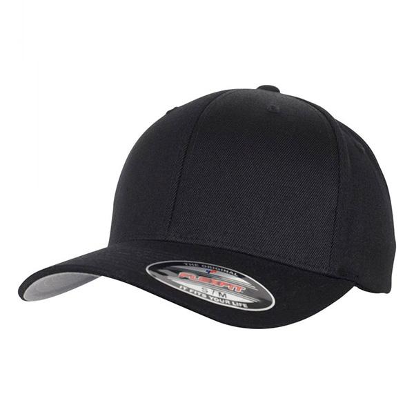 6477 Black flexfit cap