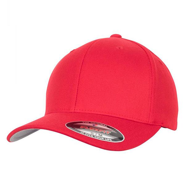 6477 Red flexfit cap