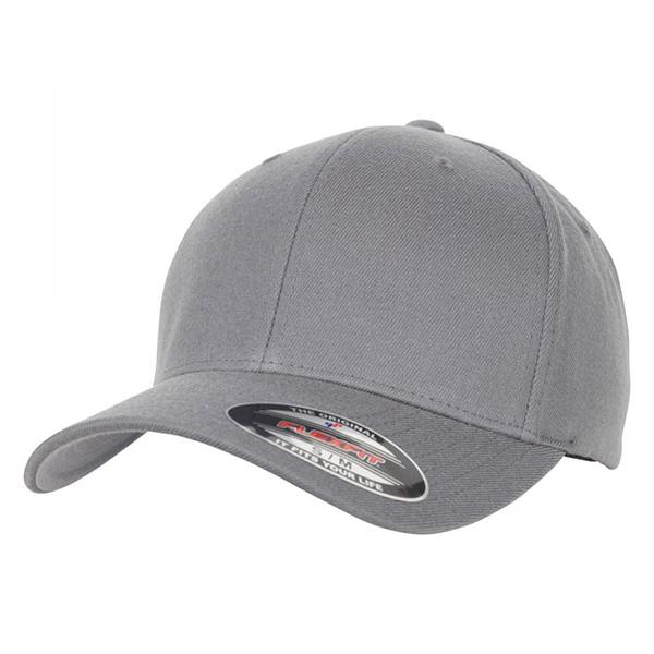 6477 grey flexfit cap