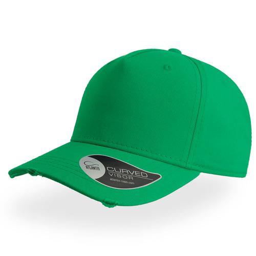 Destroyed Cap in Green