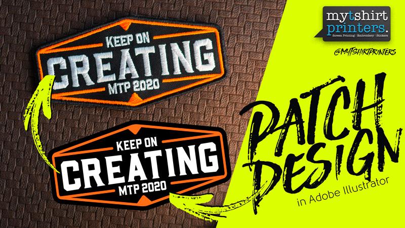 Illustrator Patch Graphic Design