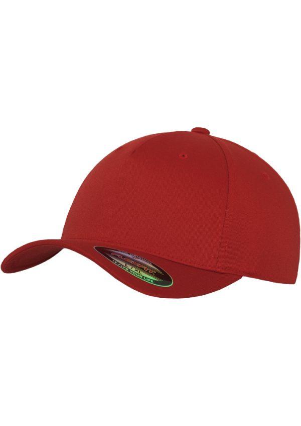 red cap flexfit 5 panel